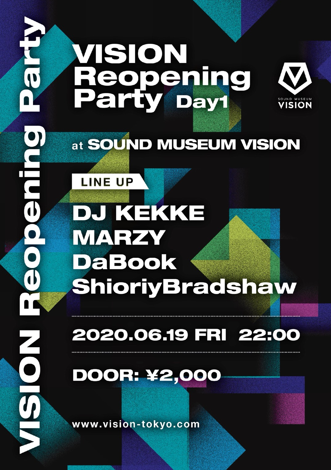 VISION Reopening Party Day1