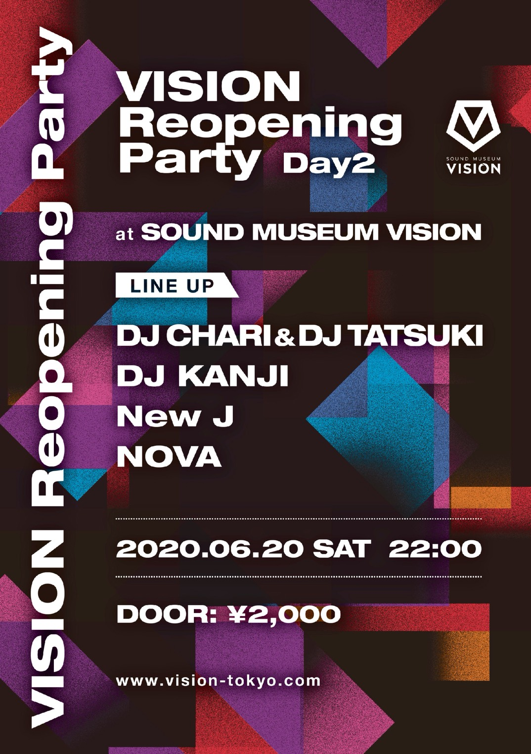 VISION Reopening Party Day2