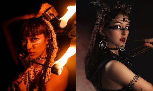 Ashaleli Show Iness & Kiki