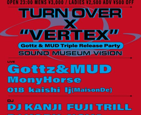 TURN OVER ×